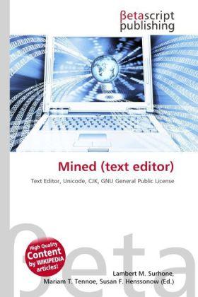 Mined (text editor) als Buch von