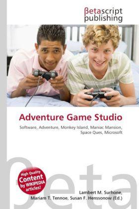 Adventure Game Studio als Buch von