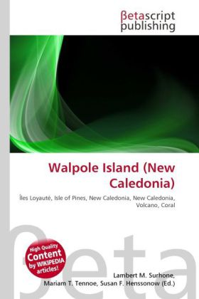 Walpole Island (New Caledonia) als Buch von