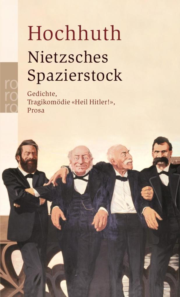 Nietzsches Spazierstock als Taschenbuch