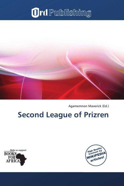 Second League of Prizren als Buch von