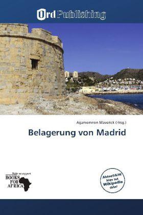 Belagerung von Madrid als Buch von