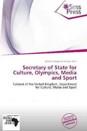Secretary of State for Culture, Olympics, Media...