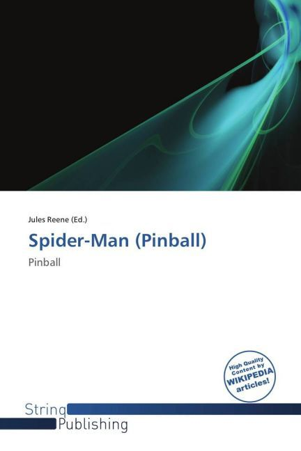Spider-Man (Pinball) als Buch von
