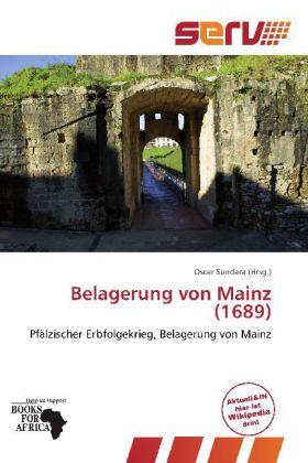 Belagerung von Mainz (1689) als Buch von