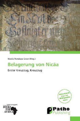 Belagerung von Nicäa als Buch von