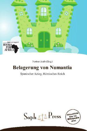 Belagerung von Numantia als Buch von