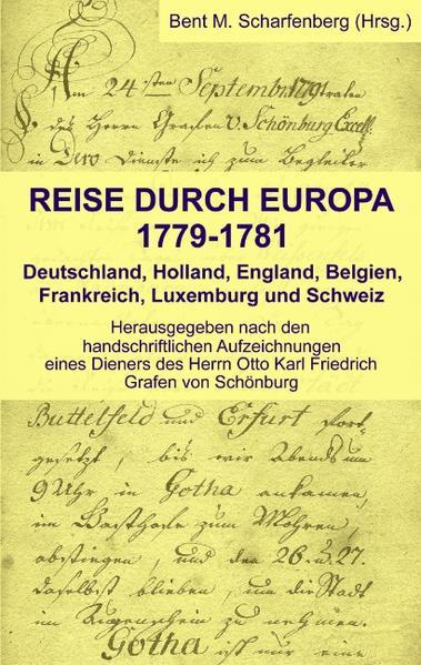 Reise durch Europa 1779-1781 als Buch