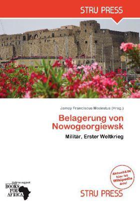 Belagerung von Nowogeorgiewsk als Buch von