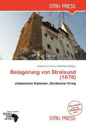 Belagerung von Stralsund (1678) als Buch von