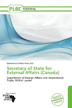 Secretary of State for External Affairs (Canada...