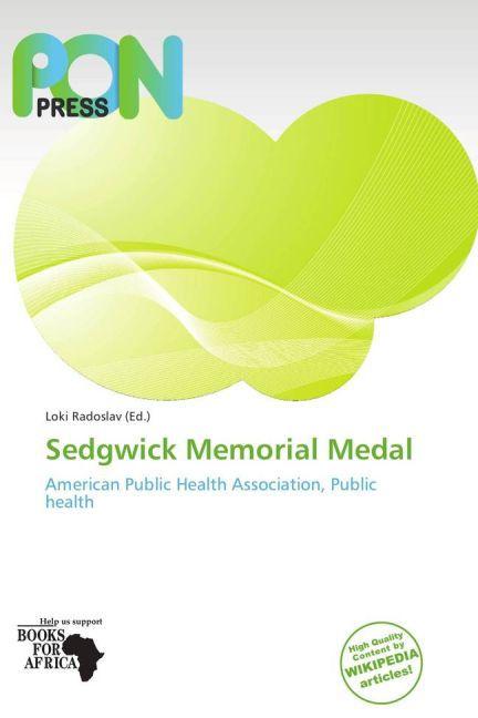 Sedgwick Memorial Medal als Buch von