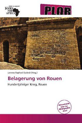 Belagerung von Rouen als Buch von