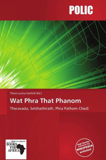 Wat Phra That Phanom als Buch von