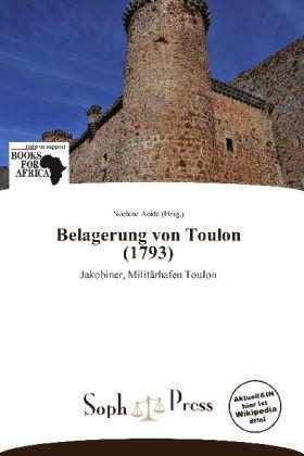 Belagerung von Toulon (1793) als Buch von