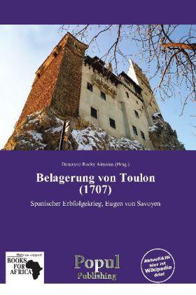 Belagerung von Toulon (1707) als Buch von