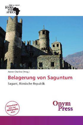 Belagerung von Saguntum als Buch von