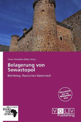Belagerung von Sewastopol als Buch von