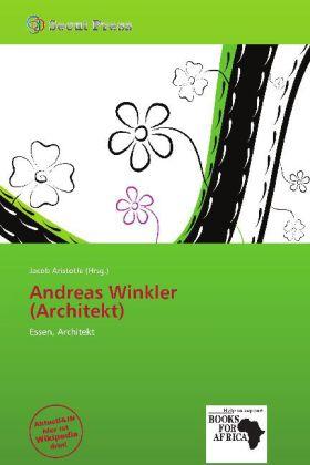 Andreas Winkler (Architekt) als Buch von