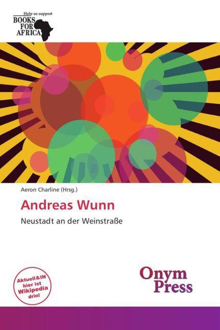 Andreas Wunn als Buch von