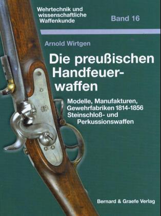 Die preußischen Handfeuerwaffen als Buch