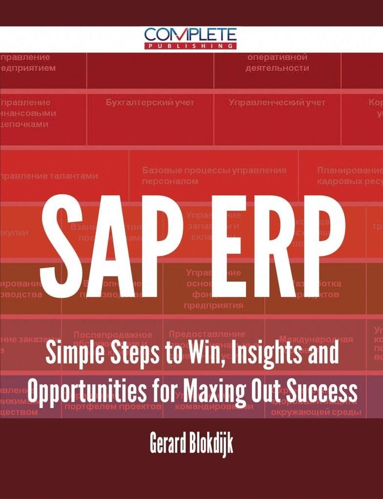 SAP ERP - Simple Steps to Win, Insights and Opp...