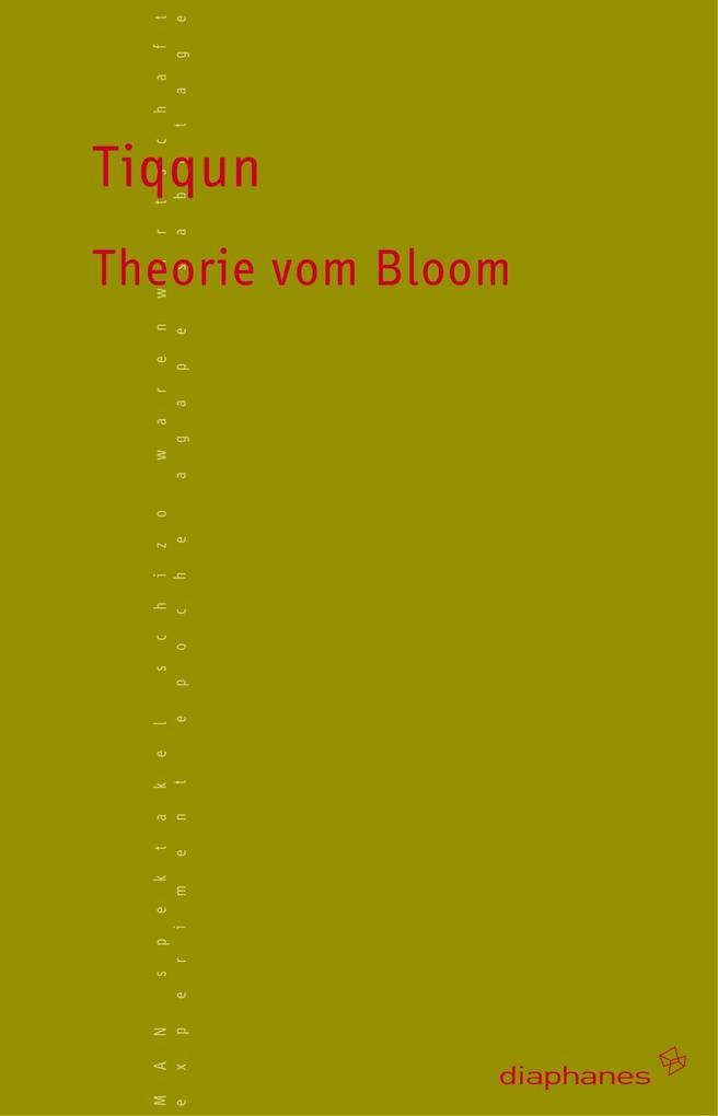 Theorie vom Bloom als Buch