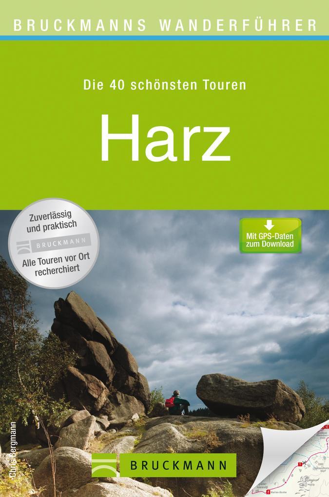 Bruckmanns Wanderführer Harz als eBook Download...