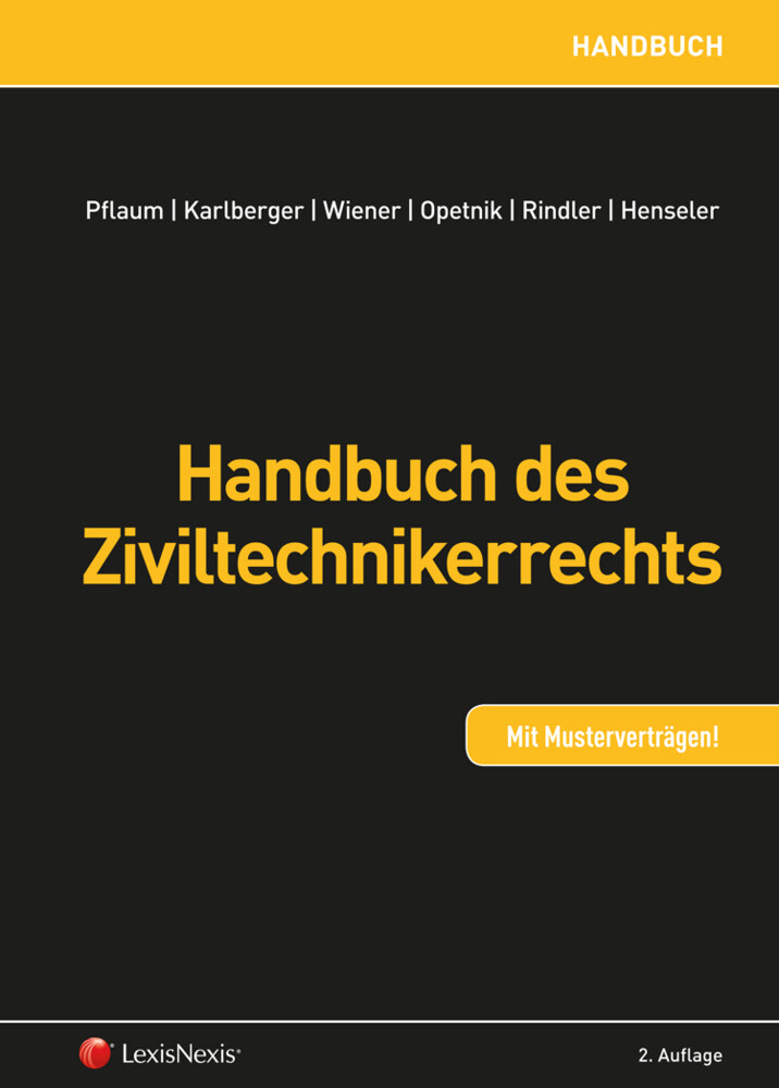 Handbuch des Ziviltechnikerrechts als Buch
