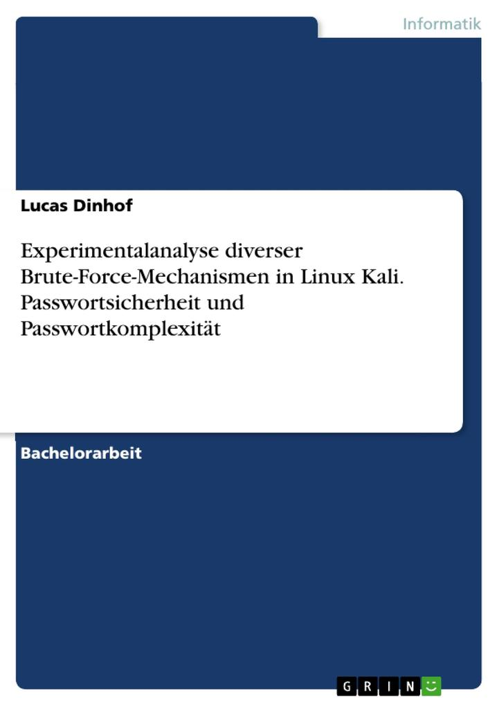 Experimentalanalyse diverser Brute-Force-Mechan...