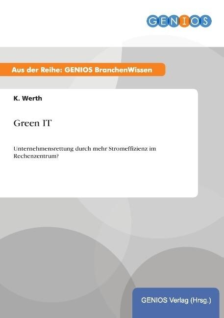 Green IT als Buch von K. Werth