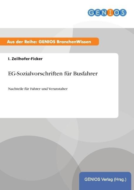 EG-Sozialvorschriften für Busfahrer als Buch vo...