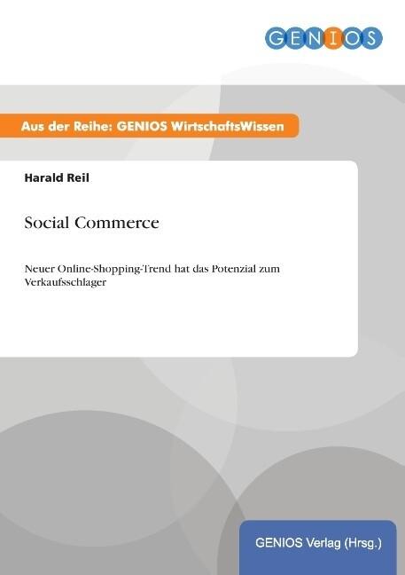 Social Commerce als Buch von Harald Reil