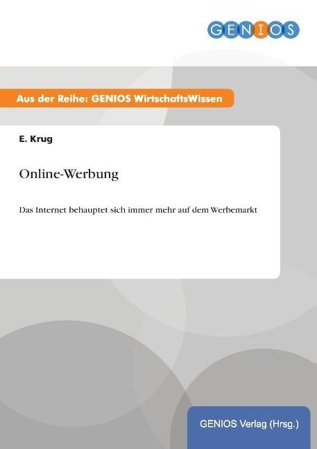 Online-Werbung als Buch von E. Krug