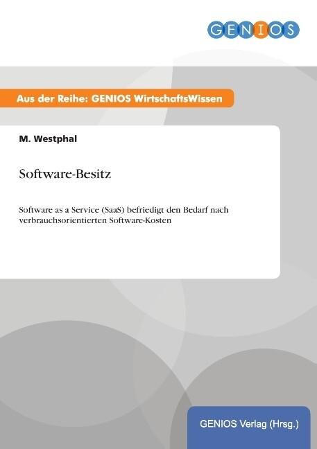Software-Besitz als Buch von M. Westphal