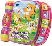 VTech 166754 - Babyspielzeug, Mein erstes Liederbuch, pink