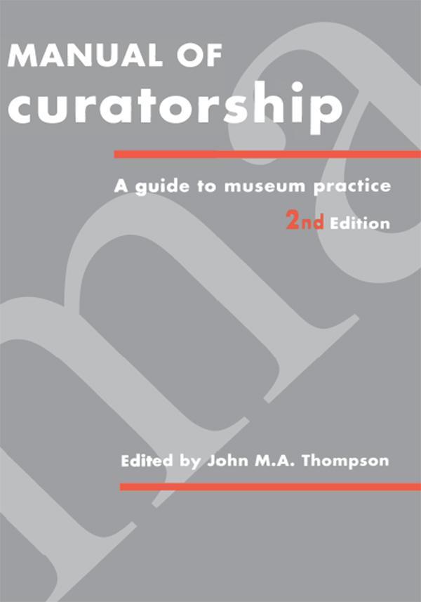Manual of Curatorship als eBook Download von