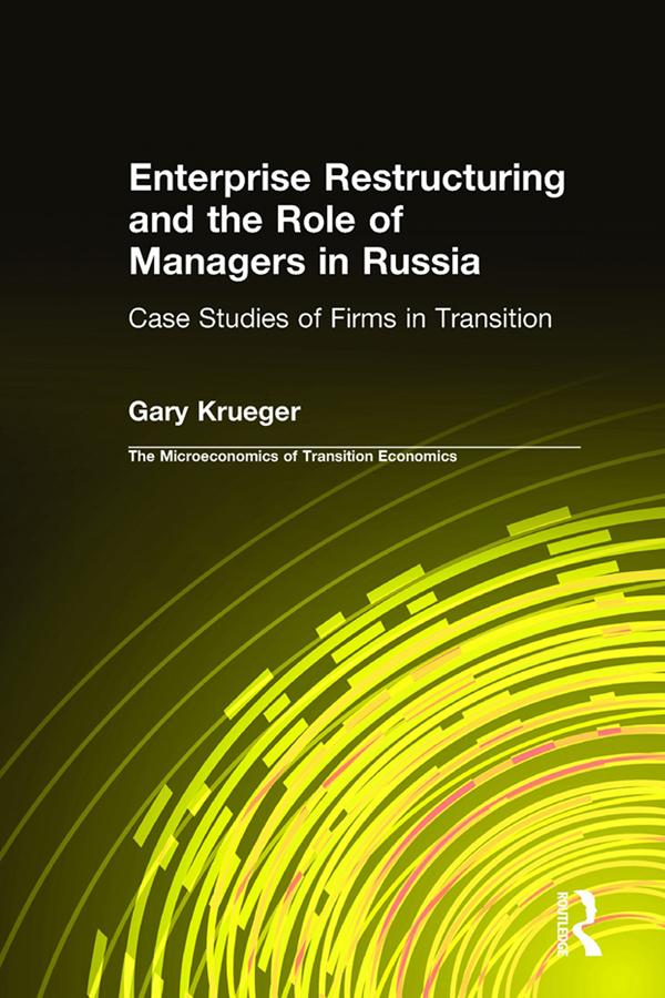 Enterprise Restructuring and the Role of Manage...