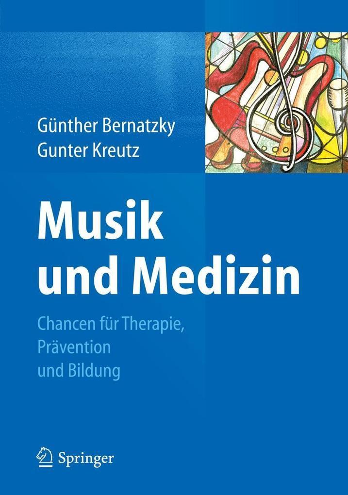 Musik und Medizin als eBook Download von