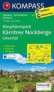 Biosphärenpark Kärntner Nockberge - Liesertal 1 : 50 000