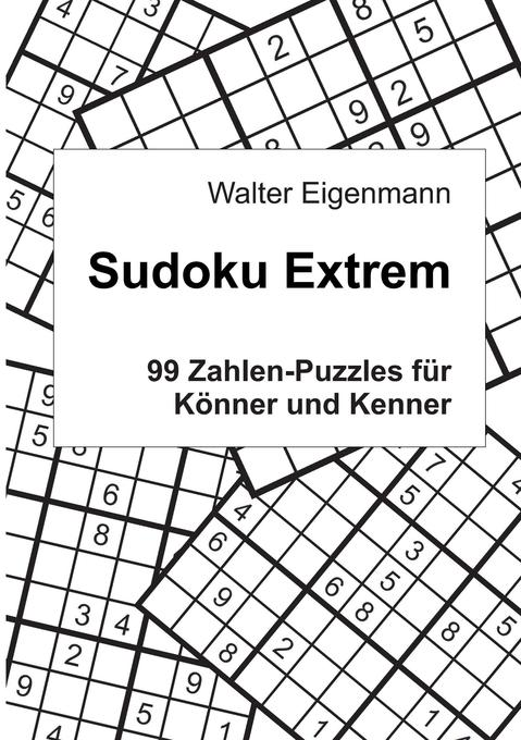 Sudoku Extrem als Buch