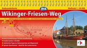 BVA Radwanderkarte Wikinger-Friesen-Weg 1 : 50.000