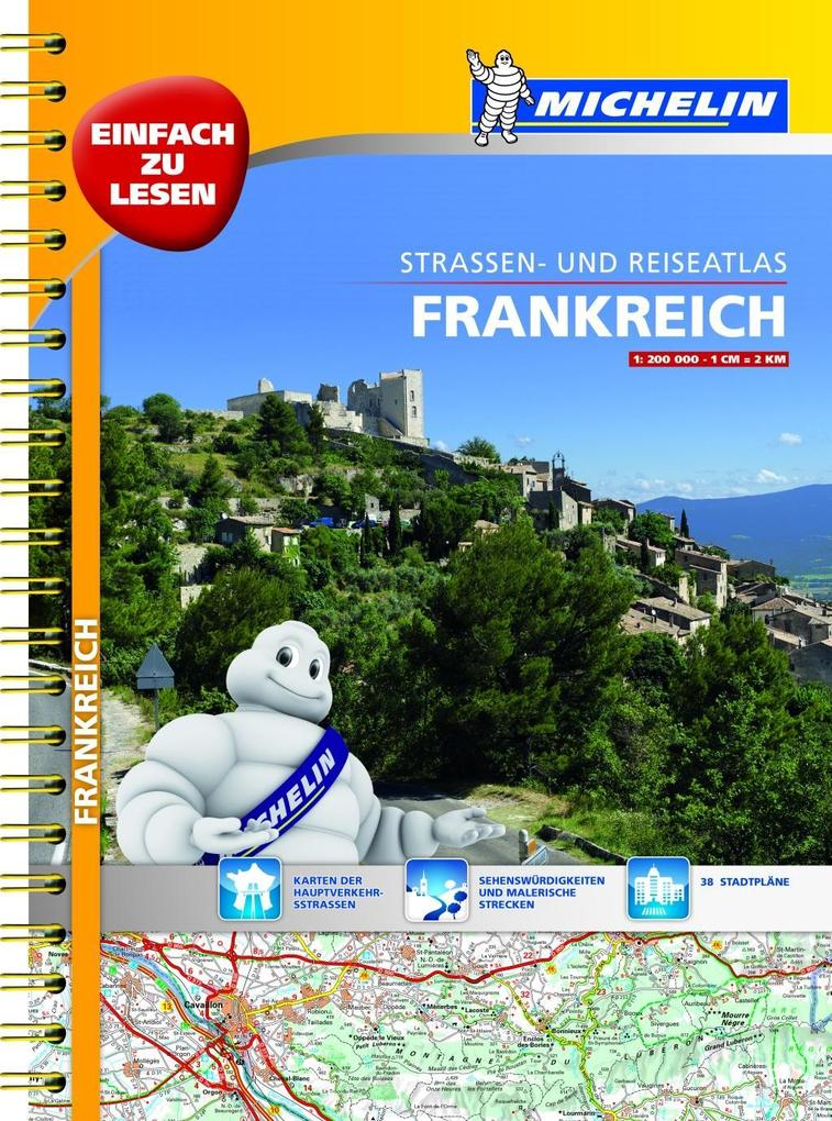 michelin stra enatlas frankreich 1 200 000 mit. Black Bedroom Furniture Sets. Home Design Ideas