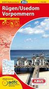ADFC-Radtourenkarte 4 Rügen/ Usedom Vorpommern 1 : 150.000