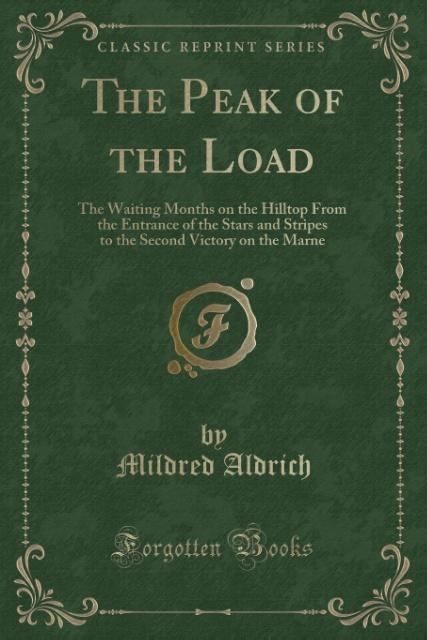 The Peak of the Load als Taschenbuch von Mildre...
