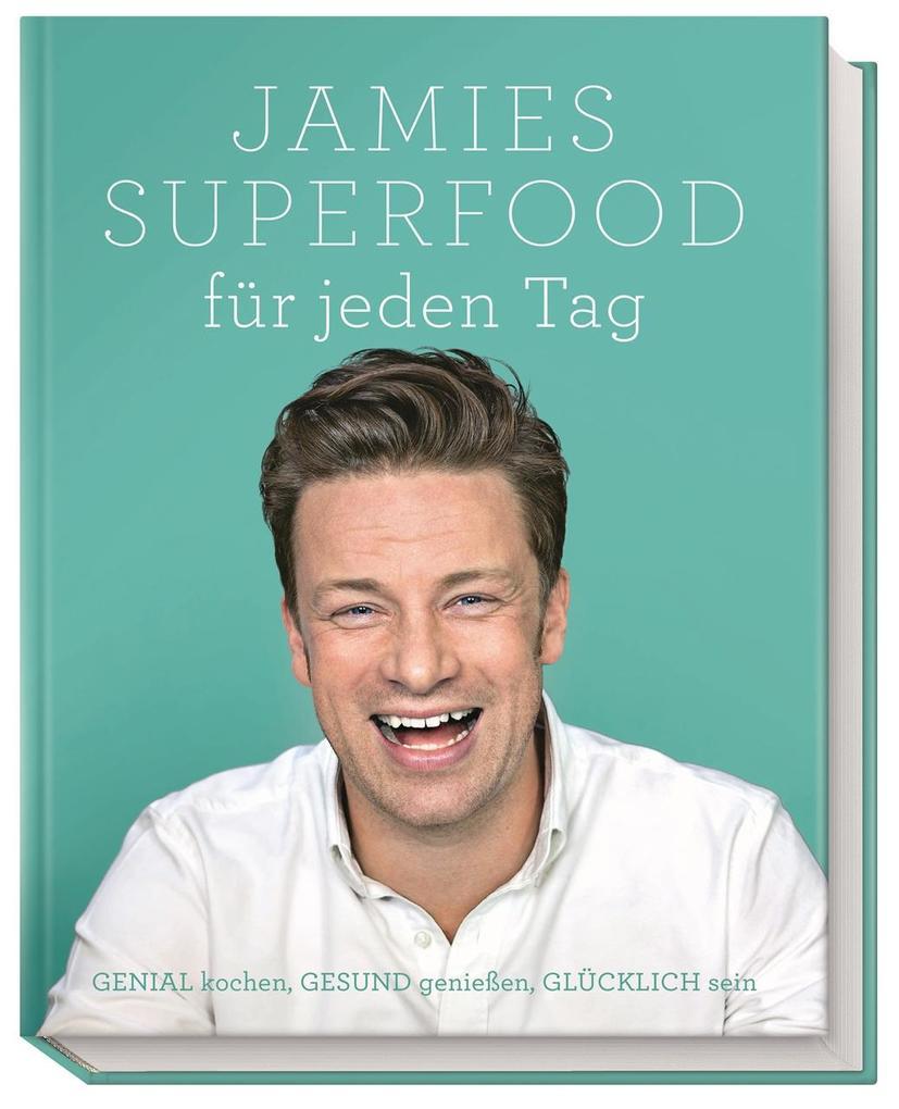 Jamies Superfood für jeden Tag als Buch