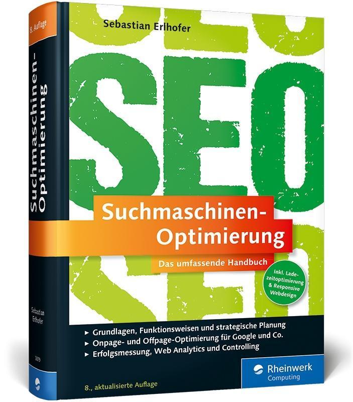 Suchmaschinen-Optimierung als Buch von Sebastia...