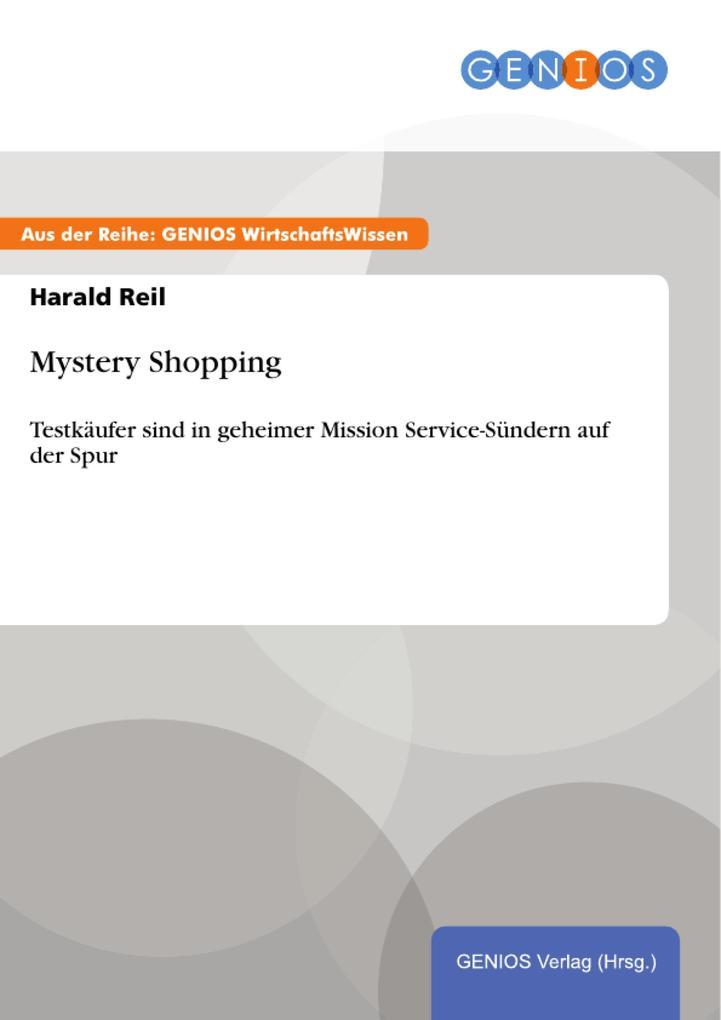 Mystery Shopping als eBook Download von Harald ...