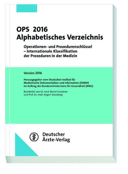 OPS 2016 Alphabetisches Verzeichnis als Buch vo...