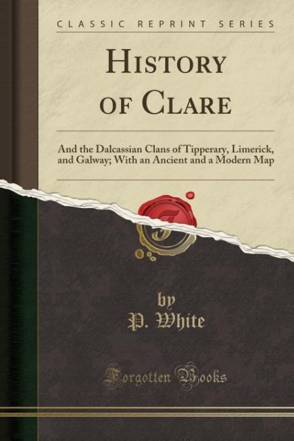 History of Clare als Taschenbuch von P. White